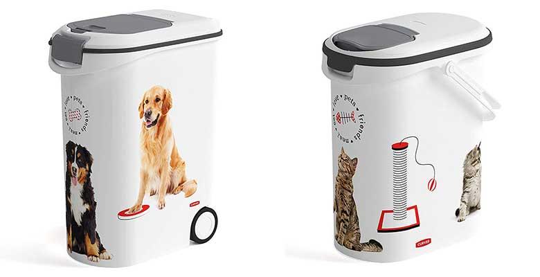 El contenedor de pienso para perros y gatos más popular - Curver Petlife