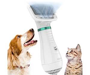 Híbrido entre cepillo y secador portátil para perros - DADYPET