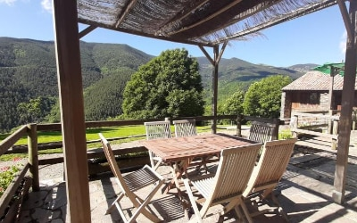 El Serrat Turisme Rural casa rural que admite mascotas en Planoles - El Ripollés - Pirineo Catalán