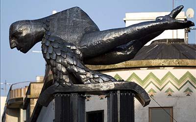 Estatua del Sireno de Vigo