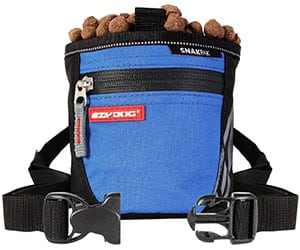 Bolsa de premios para perros con cierre magnético y calidad premium - EzyDog Snakpak