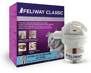 Feliway Classic Difusor de feromonas para calmar a gatos estresados en casa