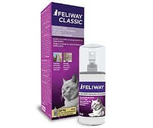 Feliway Classic Spray de feromonas que calman a los gatos en situaciones especiales