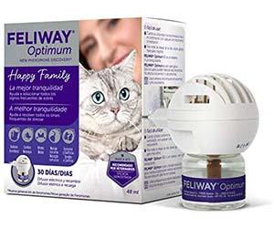 Feromonas para evitar que el gato rasque y marque con orina - Feliway Optimum