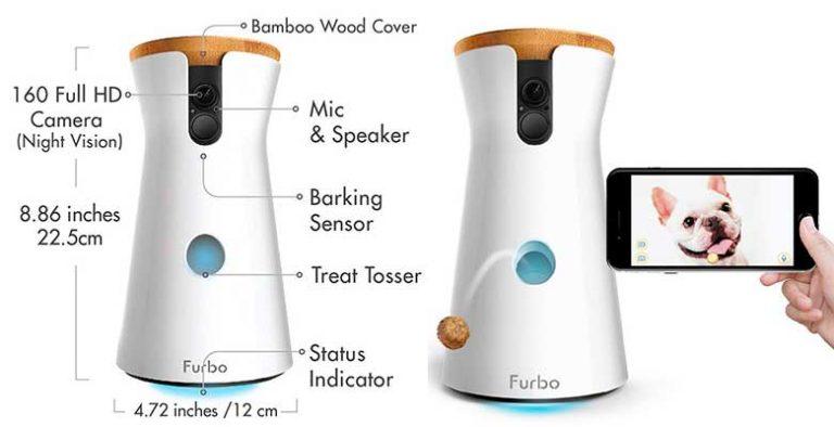 Furbo: la cámara interactiva para perros más popular