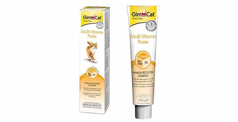 Malta para gatos con vitaminas - GimCat Multi-Vitamin