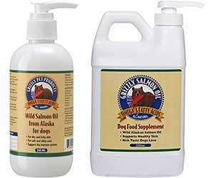 Aceite de salmón salvaje de Alaska para perros y gatos - Grizzly
