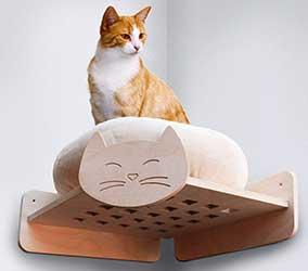Estante esquinero para gatos - HabiCat