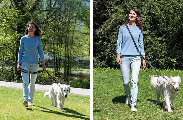 Correa de nylon para perros - ajustable en varias posiciones - Happilax