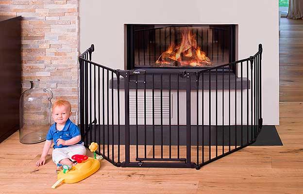 Valla de seguridad para chimenea - Hauck Fireplace