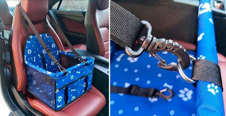 Asiento de seguridad barato para llevar al perro en el coche - HomeYoo