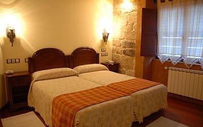 Hotel O Portelo rural admite perros en Allariz (Ourense)