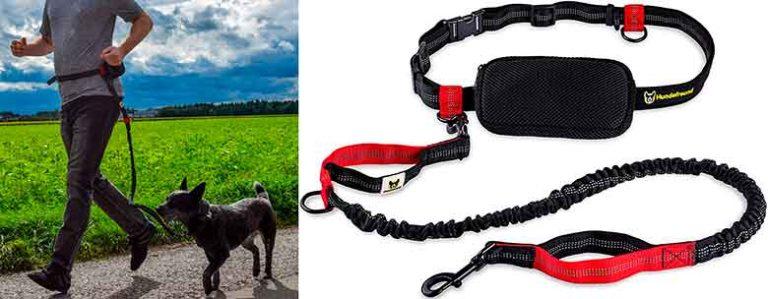 Correa de canicross para correr con tu perro - Hundefreund