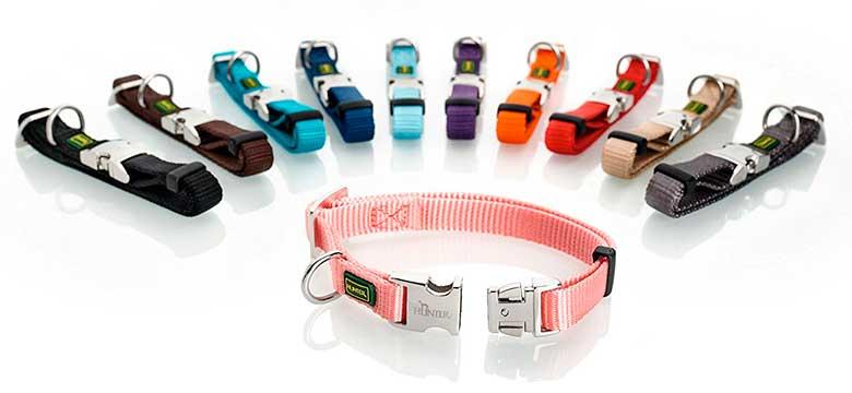 Collar de nylon para perros - Hunter Vario Basic Alu-Strong