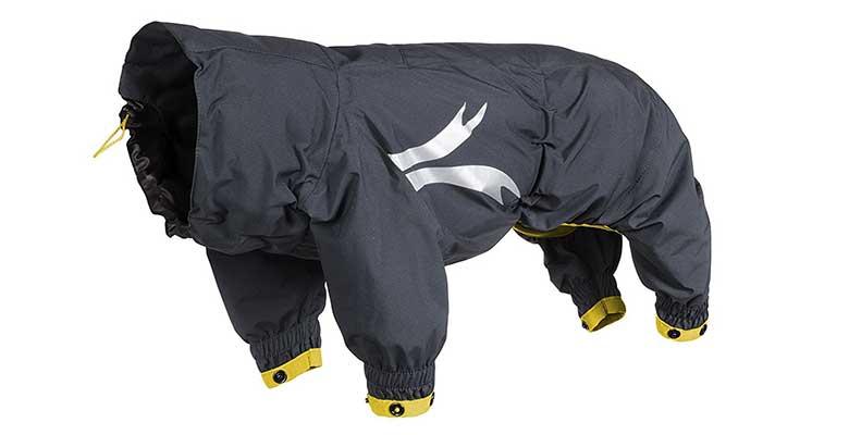 Chubasquero con 4 patas y calidad premium para perros - Hurtta Slush Combat Suit