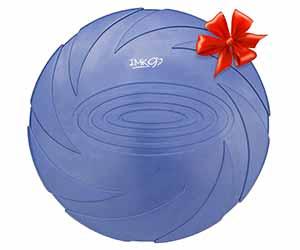 Frisbee para perros con gran relación calidad-precio - IMK9 Pets