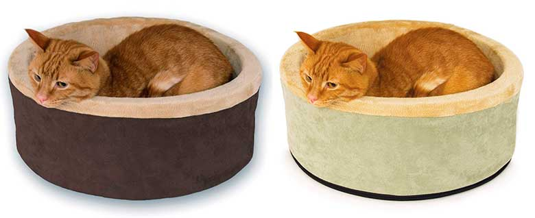 Cama para gatos con calefacción incorporada - K&H Pet Products Thermo Kitty