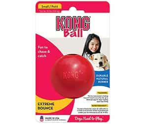 Pelota para perros prácticamente indestructible - KONG Ball