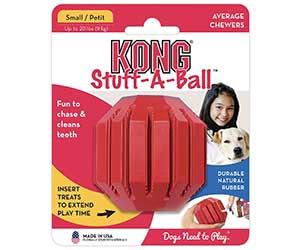 Pelota dental interactiva para perros - KONG Stuff-A-Ball