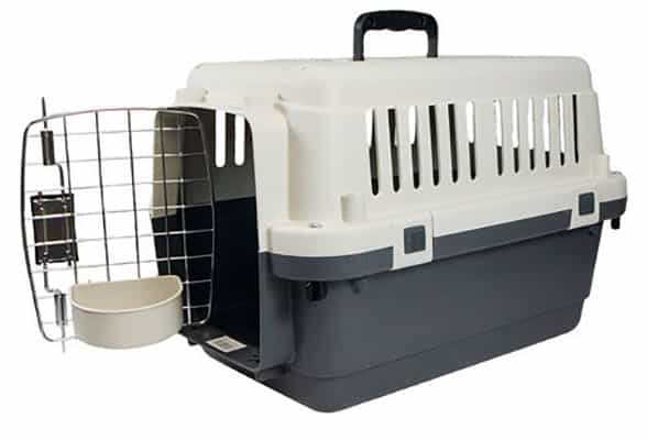 Transportín de gran calidad y homologado por la IATA para perros y gatos - Karlie