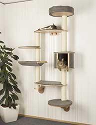 Estantería para gatos tipo árbol de pared - Kerbl