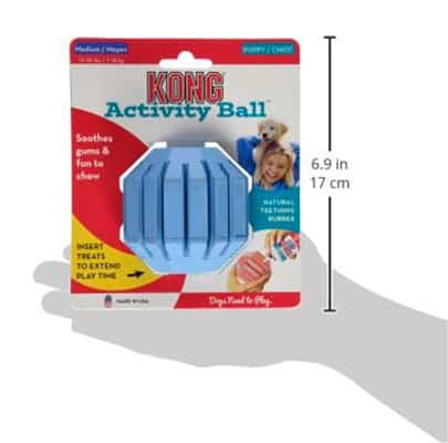 Kong Activity Ball: pelota interactiva para cachorros