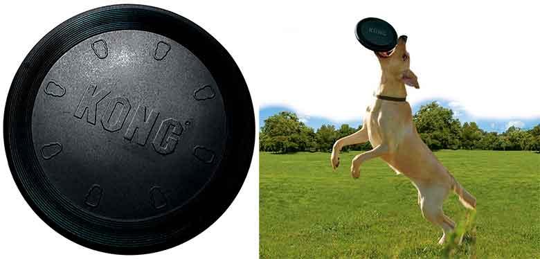 Kong Flyer Extreme: frisbee especial para perros de mordida fuerte