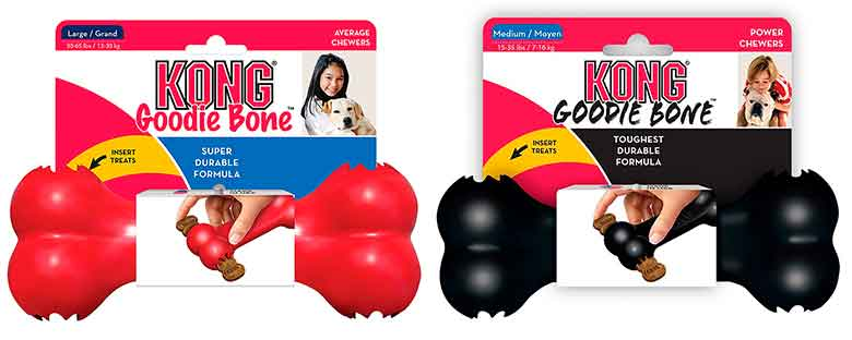 Kong Goodie Bone Hueso de juguete para perros