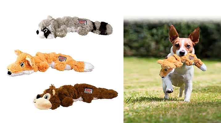 Kong Scrunch Knots: muñecos de peluche para perros
