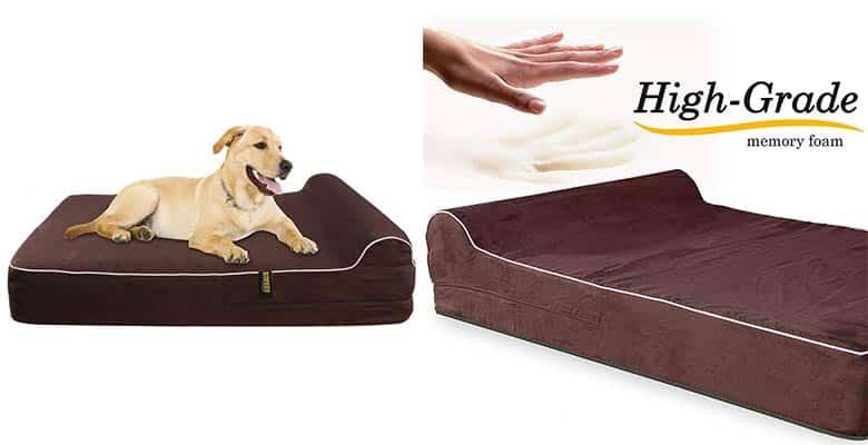 Cama ortopédica con almohada para perros - Kopeks