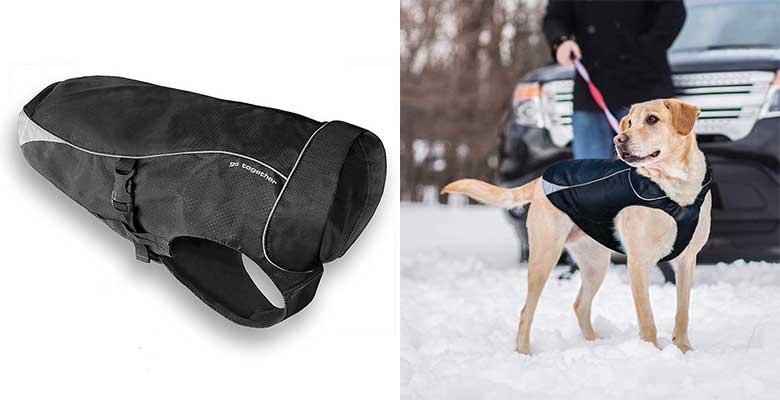Chubasquero de clima frío para perros (calidad premium) - Kurgo North Country
