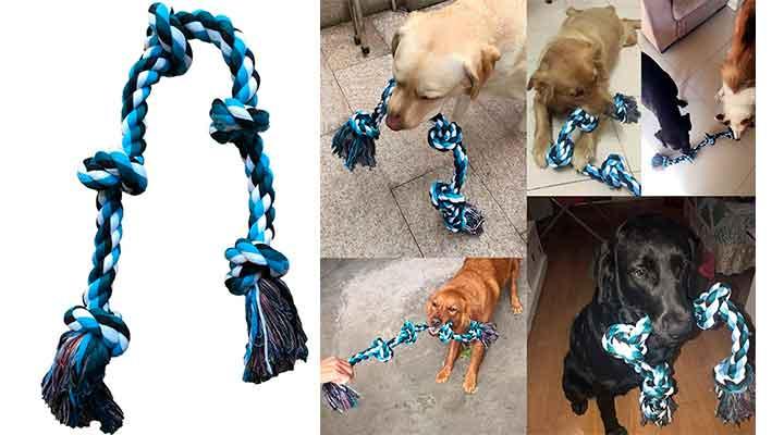 Juguete de cuerda para perros - Lanyukeji