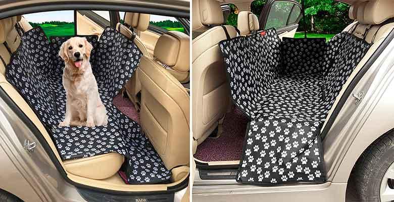 Manta para llevar al perro en el asiento trasero del coche - MATCC