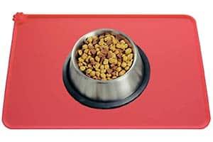 Alfombrilla de silicona para comederos de perro y gato barata - MOACC