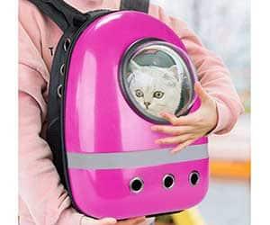 """Mochila tipo """"astronauta"""" para gatos y perros pequeños - Macallen"""