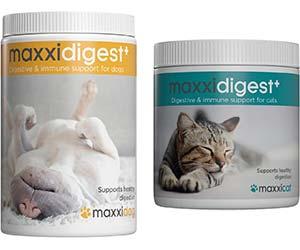 Probiótico para reforzar el sistema digestivo e inmunológico de perros y gatos - Maxxidigest+