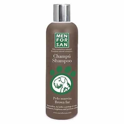 Champú para perros de pelo marrón - Menforsan Brown Fur