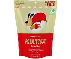 Multivitamínico ideal para perros con baja energía o inapetentes - Multiva Active Dog