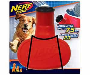 Lanza pelotas para perros con activación por pisada - Nerf Dog Stomper