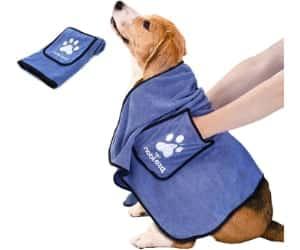 Toalla con bolsillos para perros - Nobleza