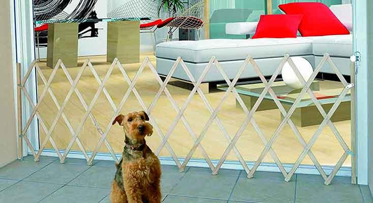 Valla de seguridad de madera para perros - Nordlinger Pro