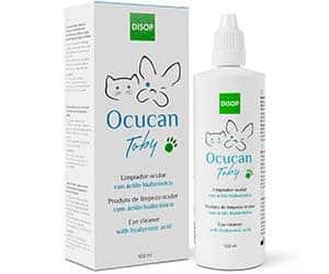 Limpiador de ojos integral para perros y gatos - Ocucan Toby
