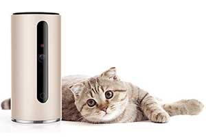 Cámara interactiva para gatos y perros con puntero láser - PETKIT Mate Pro