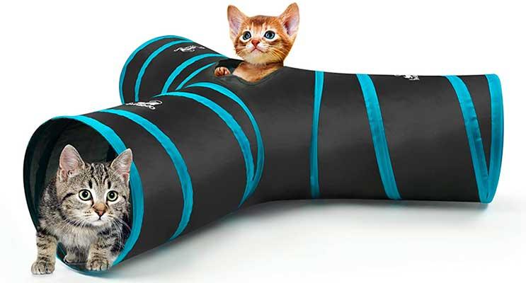 Túnel de juguete para gatos - Pawaboo