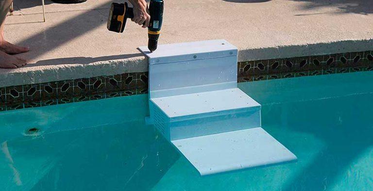 Escalera de piscina para perros - Paws Aboard Pool Pup Steps