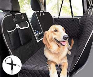 Funda para perros con ventana para los asientos traseros del coche - Pecute