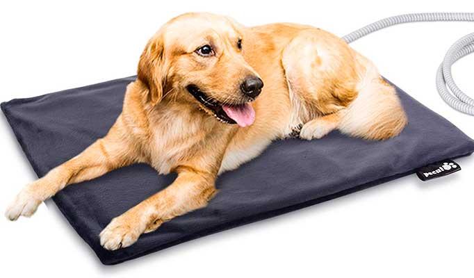 Manta térmica eléctrica - cama de invierno para perros - Pecute