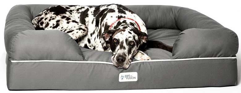 Cama ortopédica para perros - De espuma viscoelástica   PetFusion