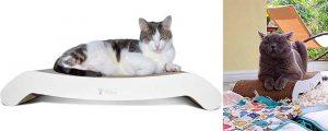 Rascador plano de cartón corrugado para gatos - PetFusion Flip Lounge