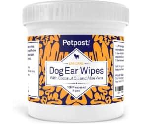 Toallitas limpiadoras para perros especiales para los oídos - Petpost